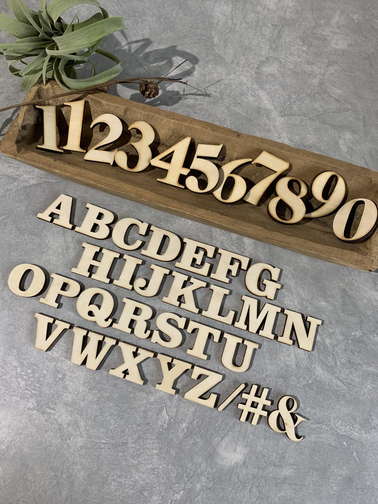 ナンバー&アルファベットバナーセット