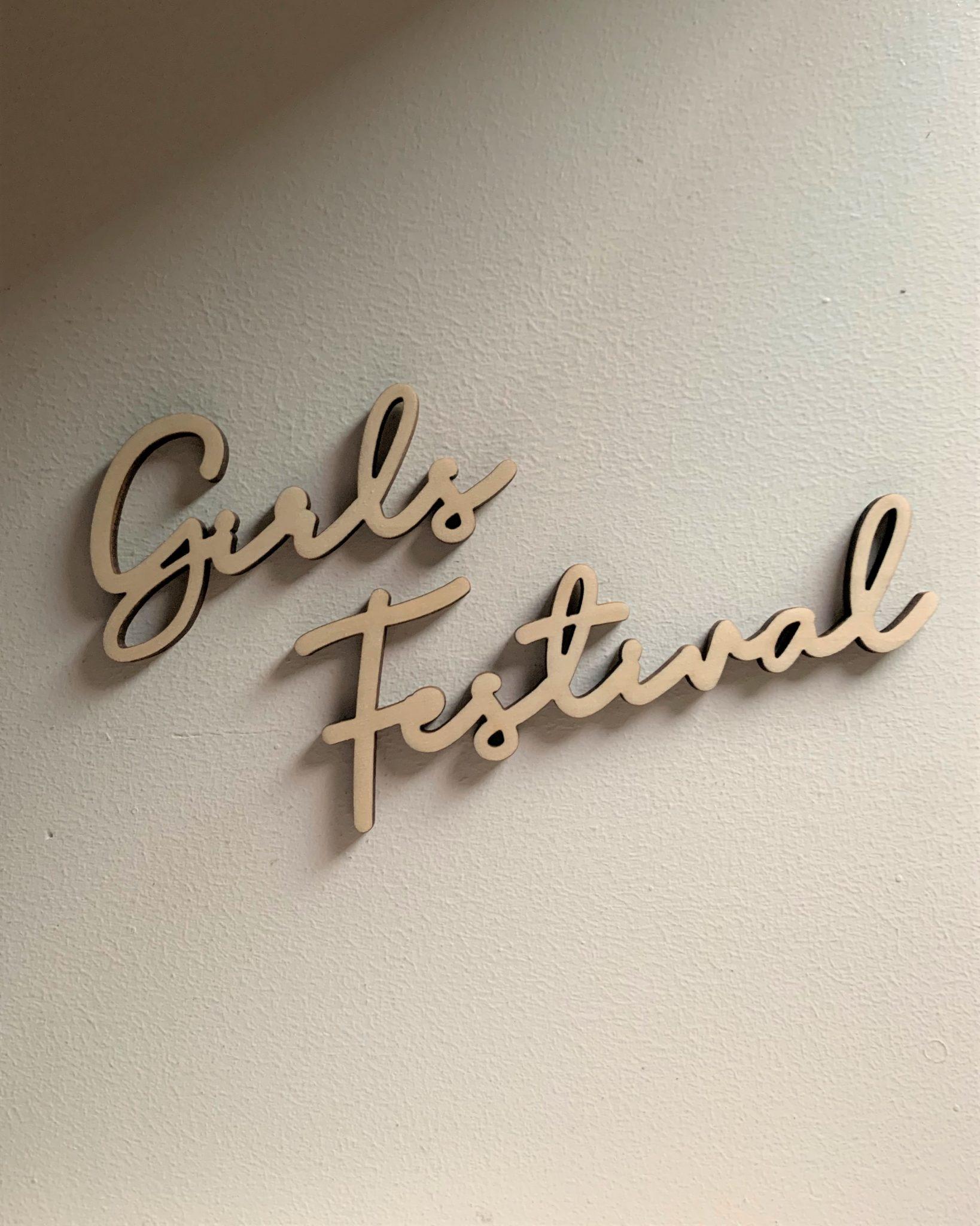 GirlsFestivalレターバナー